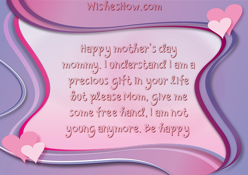 Mother's Day Wishes from Son