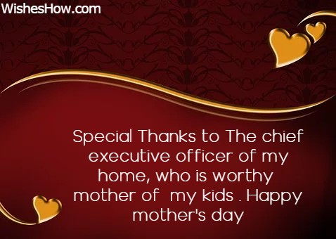 Mothers Day Wishes From Husband